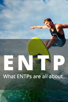 Personality Type: ENTP [Explorers, Inventors, Innovators]