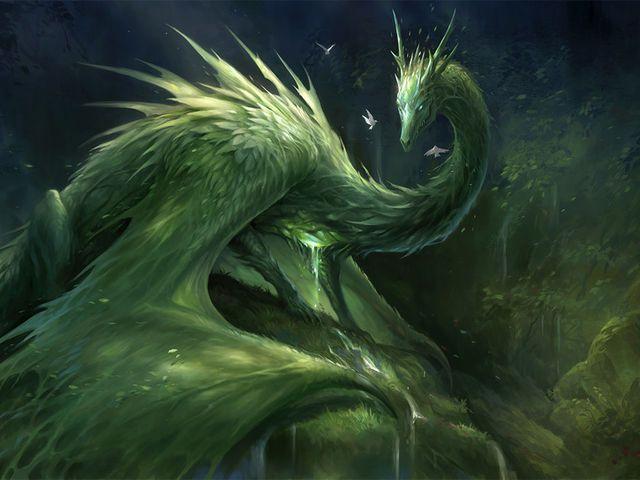 Celtic Dragon Animal Zodiac Sign